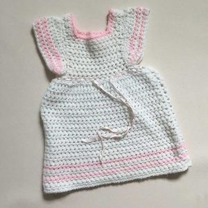 Other - Vintage Crocheted Sweater Dress from 1982